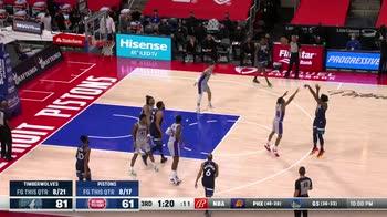 NBA Highlights Detroit-Minnesota 100-119_3544609