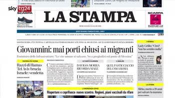 Rassegna stampa, i giornali del 12 maggio
