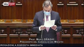 Draghi: politica immigrazione deve essere equilibrata, efficace e umana