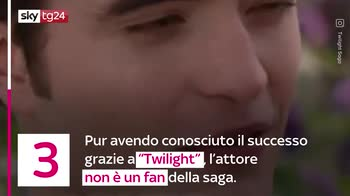 VIDEO 6 curiosità su Robert Pattinson