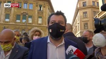 ERROR! Israele-Gaza, Salvini: missili non risolvono, soluzione pacifica