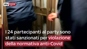 Covid, carabinieri interrompono festa Lukaku in Hotel, sanzionati in 24