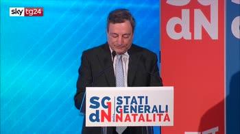 Draghi: questione demografica essenziale per l'Italia