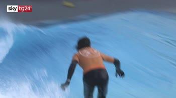 In Svizzera si fa surf, ecco l'onda artificiale di Sion
