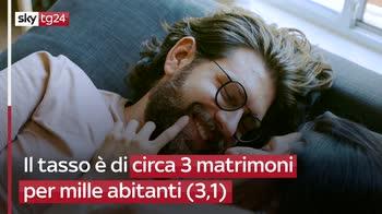 FL Italia: tasso matrimoni più basso in Ue, divorzi nella media