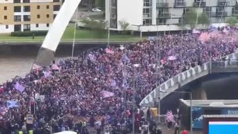 video glasgow rangers tifosi ibrox titolo