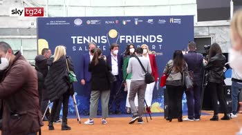 ERROR! Tennis&Friends, prevenzione, sport e spettacolo al Foro Italico