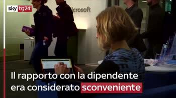 Microsoft volle dimissioni Gates per relazione inappropri