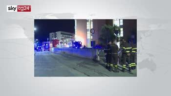 Bari, evacuato per un incendio il pronto soccorso