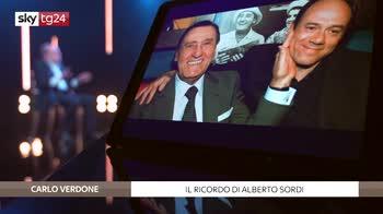 """Carlo Verdone ospite a """"Stories"""" EMBARGATO FINO ALLE 21:30"""