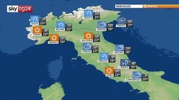 Previsioni meteo: alta pressione fragile fino al weekend