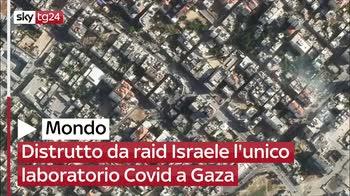Distrutto da raid Israele l'unico laboratorio Covid a Gaza