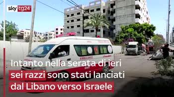 Gaza, colpito l'unico laboratorio Covid della Striscia