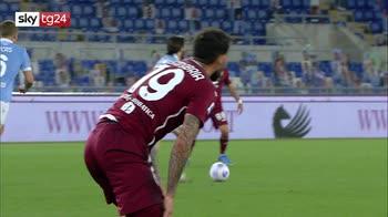 Lazio-Torino 0-0, highlights della partita serie A. VIDEO