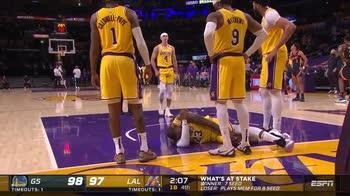 NBA, il fallo di Draymond Green su LeBron fa discutere