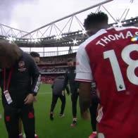 L'Arsenal saluta David Luiz, Gabriel perde un dente. VIDEO