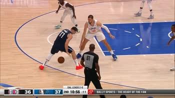 NBA, i 44 punti di Luka Doncic in gara-3 contro i Clippers