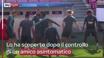 ERROR! Il giocatore dell?Inter Arturo Vidal positivo al Covid-19