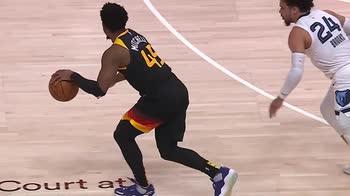 NBA, i 30 punti di Donovan Mitchell in gara-5 contro Utah