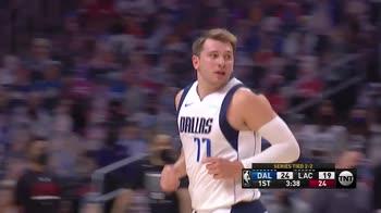NBA, i 42 punti di Luka Doncic in gara-5 contro i Clippers