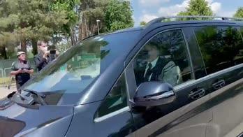 Inter, Inzaghi arriva ad Appiano Gentile