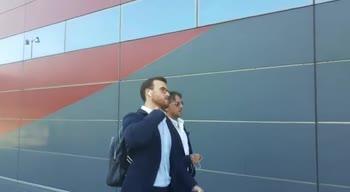 Milan, incontro con gli agenti di Calabria