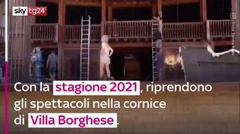 VIDEO Il Globe Theatre di Roma dedicato a Gigi Proietti