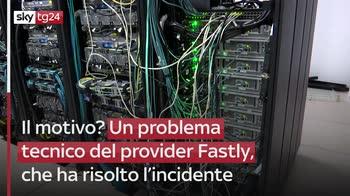 fl Problema per Fastly, migliaia di siti down in tutto il mondo