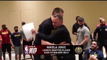 NBA, Jokic ringrazia i compagni dopo il premio di MVP