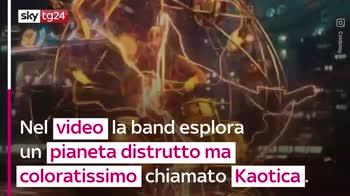 VIDEO Coldplay, pubblicato il video del nuovo singolo