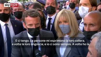 ERROR! Macron, in democrazia non c'� spazio per stupidit� e violenza