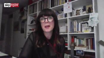 """VIDEO Cristina Don� presenta """"Desiderio"""" a Sky tg24"""
