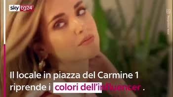 VIDEO Chiara Ferragni inaugura il temporary cafè Nespresso
