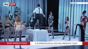 """VIDEO """"Nine"""", il musical di Saverio Marconi ispirato a Fellini"""