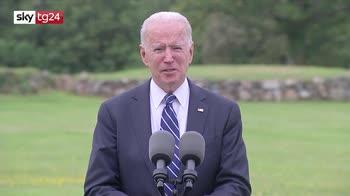 Biden nel suo primo viaggio in Europa