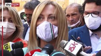 """Astrazeneca, Meloni: """"Speranza spieghi in Parlamento"""""""