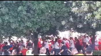 italia tuchia tifosi turchi