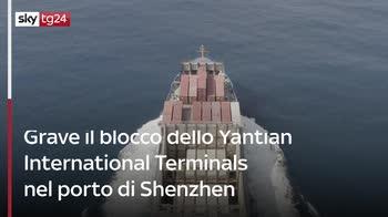 fl Variante Delta in Cina mette in crisi il movimento delle merci