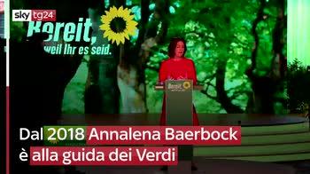 Germania, la candidata dei Verdi � Annalena Baerbock