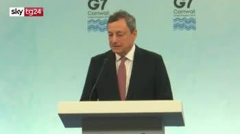 ERROR! Coronavirus, Draghi: nessuna incertezza, piano vaccini andr� in porto