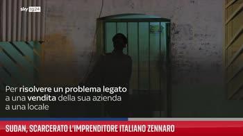 Sudan, scarcerato l?imprenditore italiano Zennaro