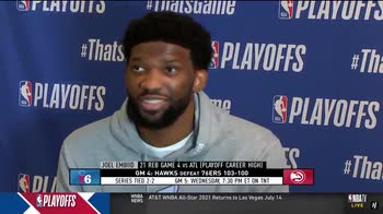 NBA, la reazione di Embiid alla schiacciata di Leonard