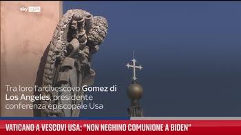 Vaticano a vescovi Usa: ?Non neghino comunione a Biden?