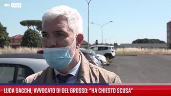 """Omicidio Sacchi,avvocato di Del Grosso:""""Si aspetta perdono"""""""