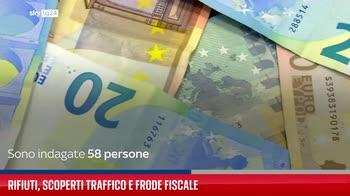 Rifiuti, scoperti traffico e frode fiscale