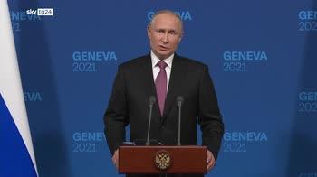 Putin: Presidente Biden grande uomo di stato