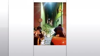 Esplosione a Barletta, crolla palazzina: tre feriti