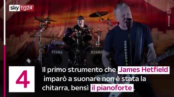 VIDEO Metallica, 6 curiosità sul gruppo