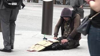 Usa, homeless sfrattati da Hotel