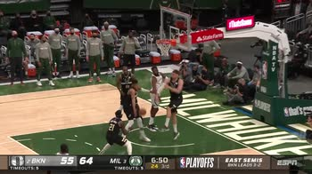 NBA, 30 punti per Giannis Antetokounmpo in gara-6 vs Nets